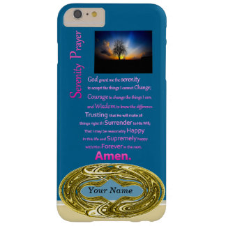 The Serenity Prayer Alone Tree Barely There iPhone 6 Plus Case