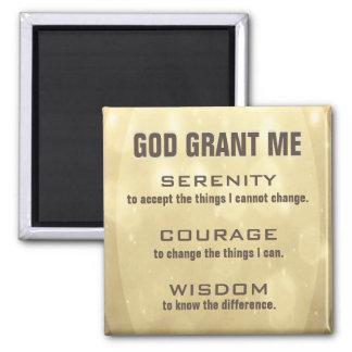 The Serenity Prayer Magnet