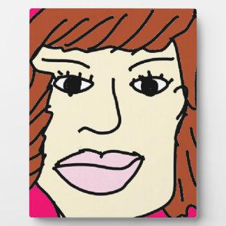 The serius women plaque