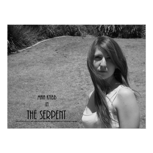 The Serpent Poster - Maia Knibb