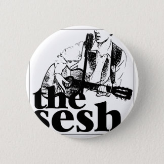 """the sesh"" 2-1/4"" Circular Button"
