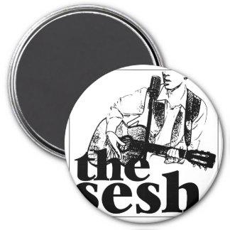 """the sesh"" 3"" Circular Magnet"