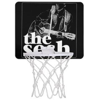 """the sesh"" Mini Basketball Hoop (Black)"