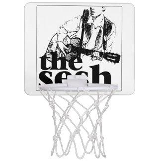 """the sesh"" Mini Basketball Hoop (White)"