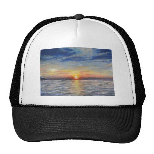 The Setting Sun Trucker Hats