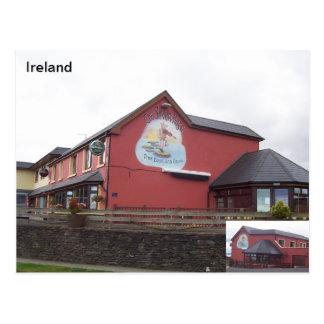 The Seven Hogs Bar, Castlegregoey, Kerry, Ireland Postcard