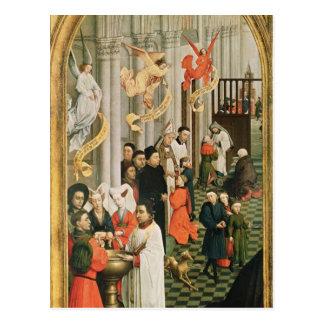 The Seven Sacraments Altarpiece Postcard