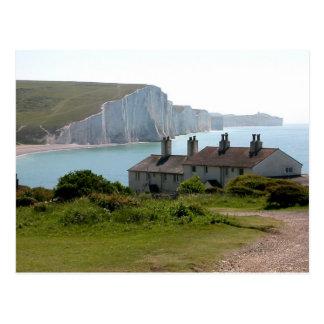 The Seven Sisters, Cuckmere Haven, Sussex Postcard