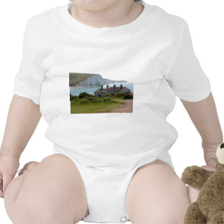 The Seven Sisters, Cuckmere Haven, Sussex Tshirts
