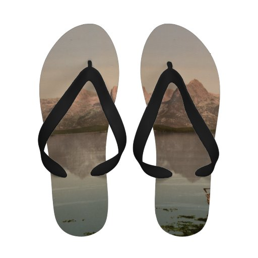 The Seven Sisters, Nordland, Norway Flip Flops