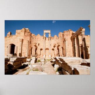 The Severan Basilica, Leptis Magna, Al Khums 2 Poster