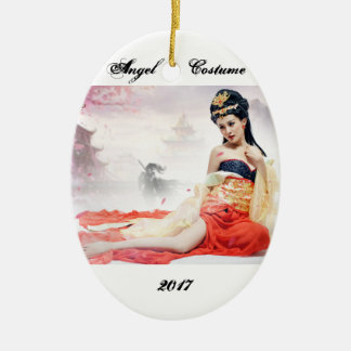 The sexy girl pictures ceramic oval decoration