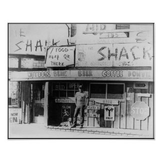 The Shack, Playa del Rey 1972 Poster
