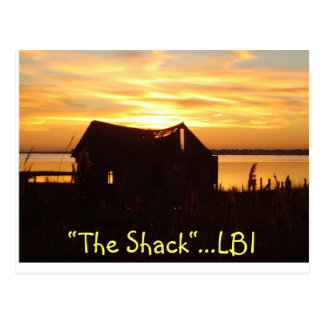 """The Shack""  Postcard"