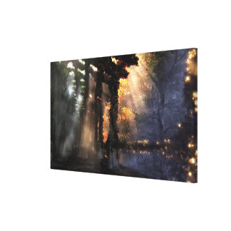 The Shaded Path (Seasons) Canvas