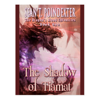 The Shadow of Tiamat Designer Postcard