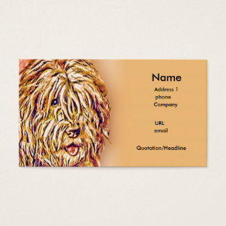 The Shaggy Dog Business Card