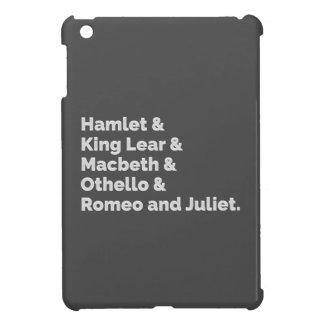 The Shakespeare Plays I iPad Mini Covers
