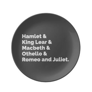 The Shakespeare Plays I Plate