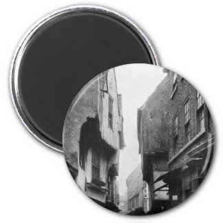 The Shambles 1901 6 Cm Round Magnet