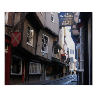 The Shambles Coffee Poster