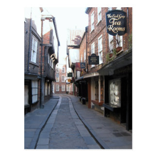 The Shambles Tea Postcard