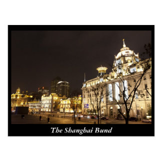 The Shanghai Bund, China Postcard