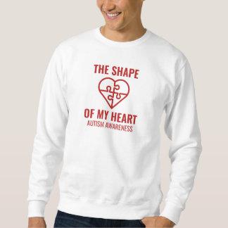 The Shape Of My Heart Sweatshirt