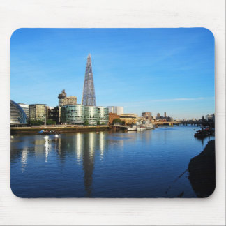 The Shard of Glass and City Hall in London Mouse Pad