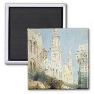 The Sharia El Gohargiyeh, Cairo Square Magnet
