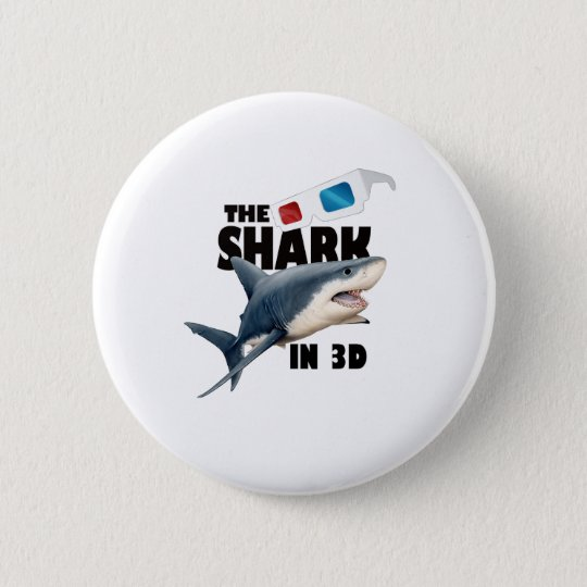 The Shark Movie 6 Cm Round Badge
