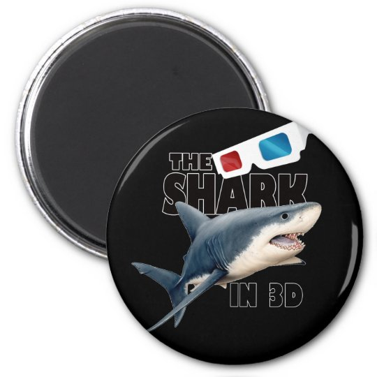 The Shark Movie 6 Cm Round Magnet