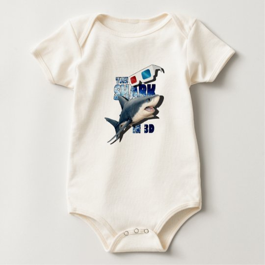 The Shark Movie Baby Bodysuit