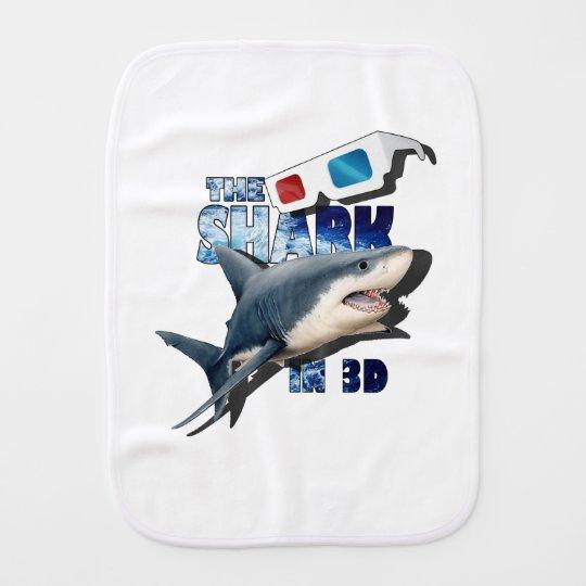 The Shark Movie Baby Burp Cloths