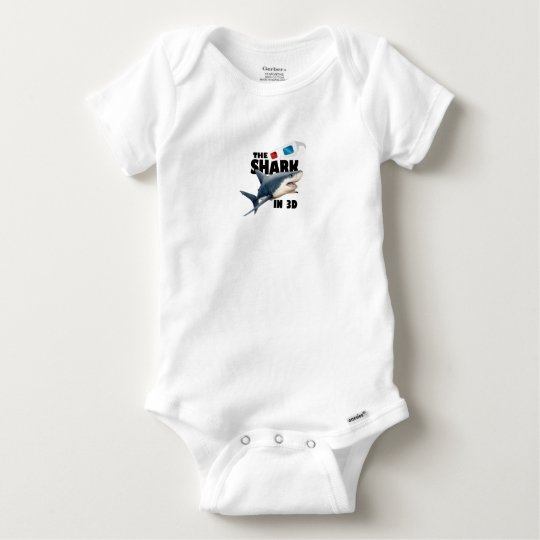 The Shark Movie Baby Onesie