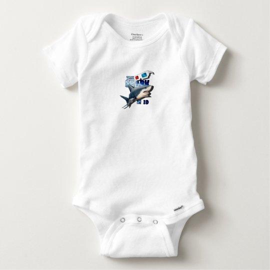 The Shark Movie Baby Onesie