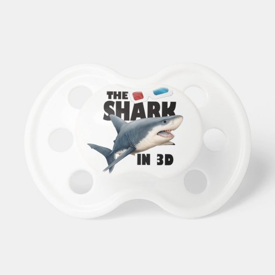 The Shark Movie Baby Pacifier