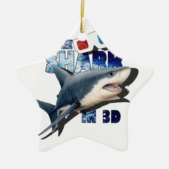 The Shark Movie Ceramic Star Decoration