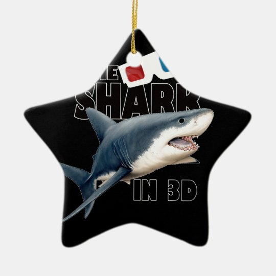 The Shark Movie Ceramic Star Decoration