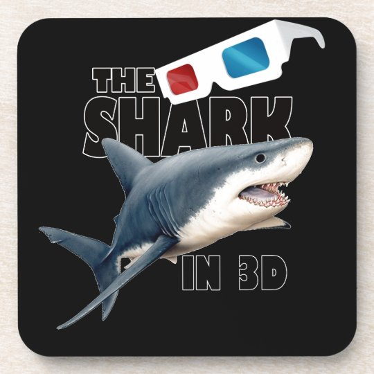 The Shark Movie Coaster