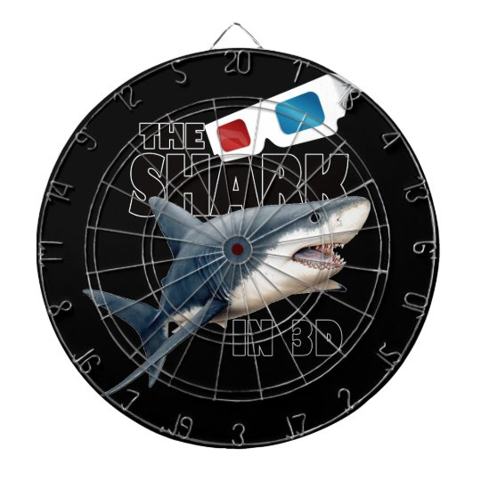 The Shark Movie Dart Board