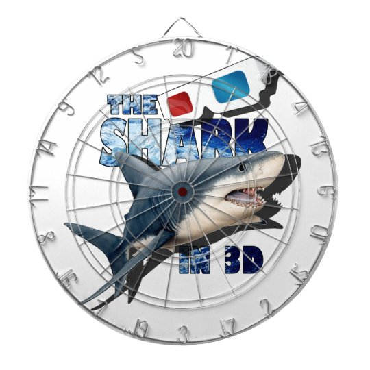 The Shark Movie Dartboard