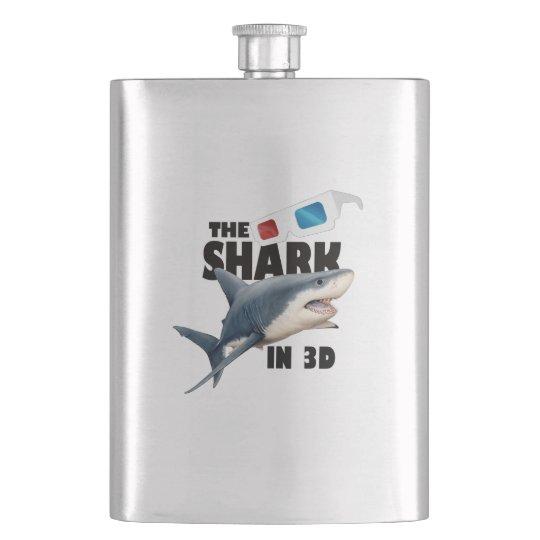 The Shark Movie Flasks