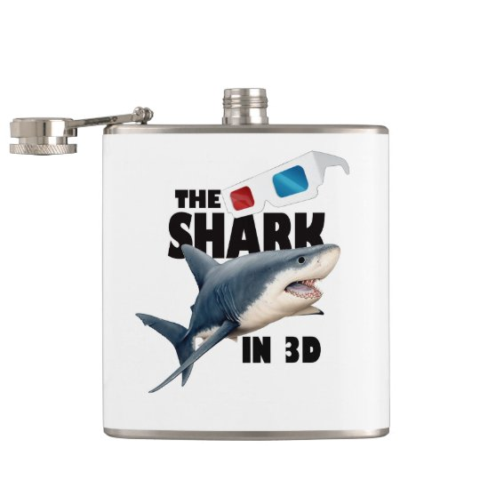 The Shark Movie Flasks