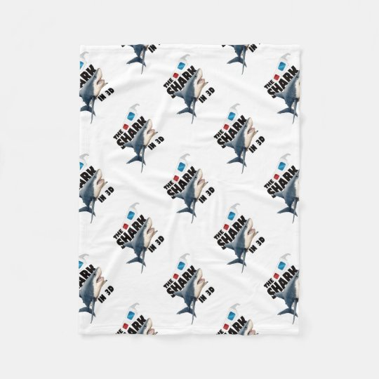 The Shark Movie Fleece Blanket