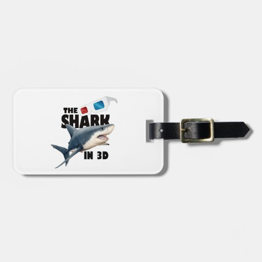 The Shark Movie Luggage Tag