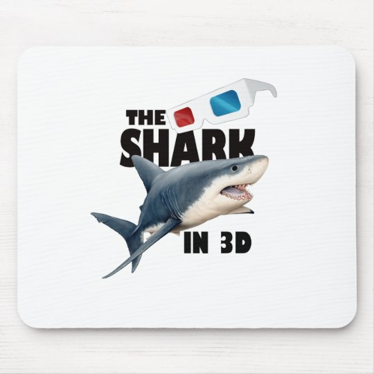 The Shark Movie Mouse Pad