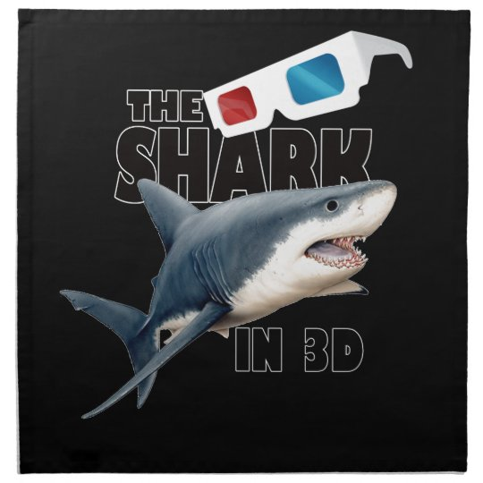 The Shark Movie Napkins