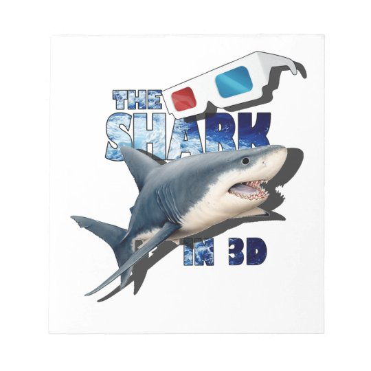 The Shark Movie Notepad