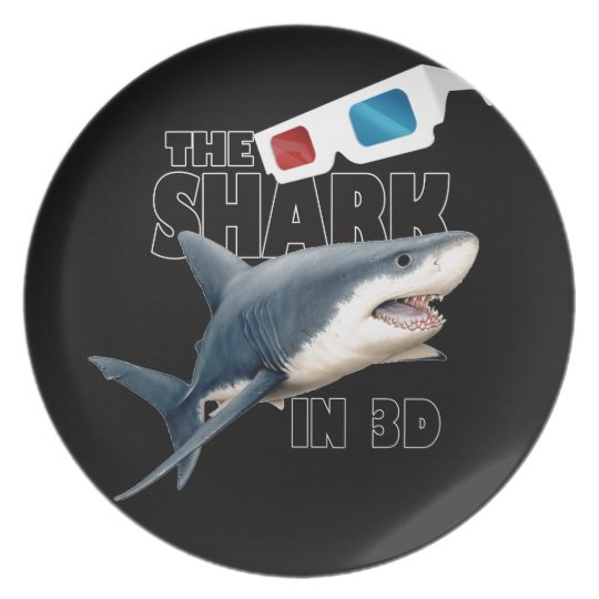 The Shark Movie Party Plate
